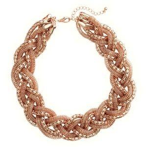 H&M Braided Gold Bracelet